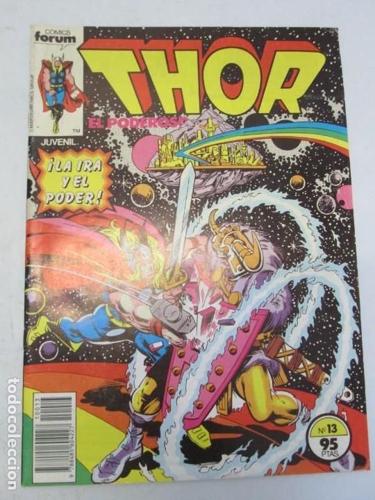 Cómics: THOR EL PODEROSO. COMICS FORUM. MARVEL. Nº 13. 1983. VER FOTOGRAFIAS ADJUNTAS - Foto 2 - 151449962