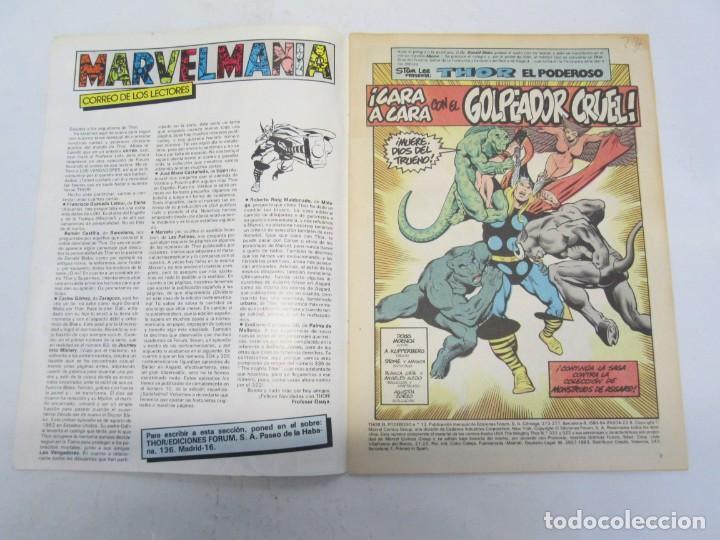 Cómics: THOR EL PODEROSO. COMICS FORUM. MARVEL. Nº 13. 1983. VER FOTOGRAFIAS ADJUNTAS - Foto 3 - 151449962