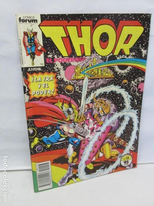 THOR EL PODEROSO. COMICS FORUM. MARVEL. Nº 13. 1983. VER FOTOGRAFIAS ADJUNTAS (Tebeos y Comics - Forum - Thor)