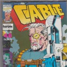 Cómics: CABLE VOL. 1 -- COLECCIÓN COMPLETA -- 21 COMICS. Lote 46298023