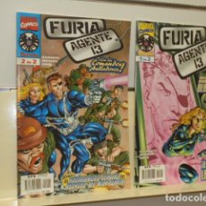 Cómics: FURIA AGENTE 13 COMPLETA 2 NUM. - FORUM OCASION. Lote 151472550