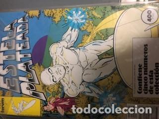 Cómics: Silver Surfer V1 1 a 20 + V2 1 a 19 (Completa) + Especial + La guerra heraldos + Resurrección - Foto 2 - 151478434