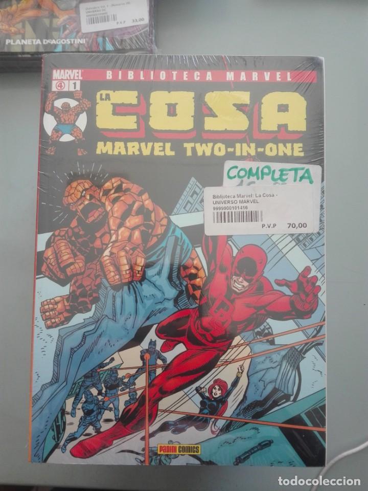 BIBLIOTECA MARVEL LA COSA COMPLETA # (Tebeos y Comics - Forum - Otros Forum)
