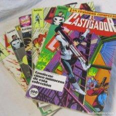 Cómics: 5 TOMOS DE EL CASTIGADOR FORUM. CADA UNO CON 5 NÚMEROS ENCUADERNADOS. Lote 151532794