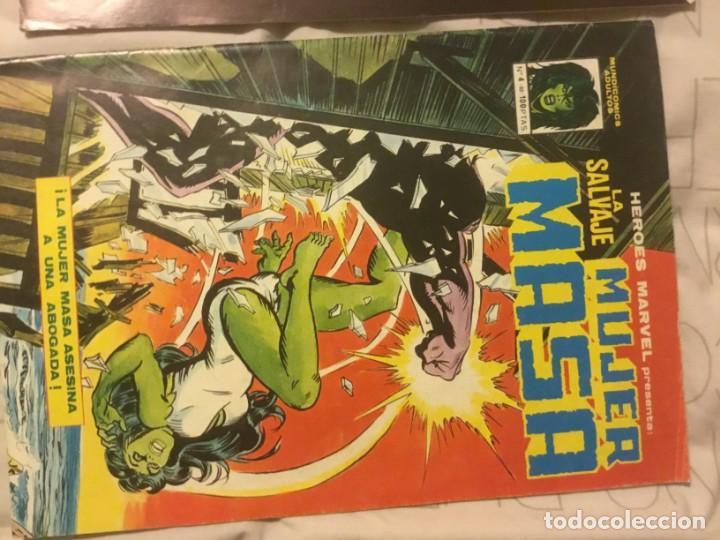 Cómics: Hulka 1 a 10 (Byrne) + Mundicomics 1 y 4 - Foto 4 - 151541682