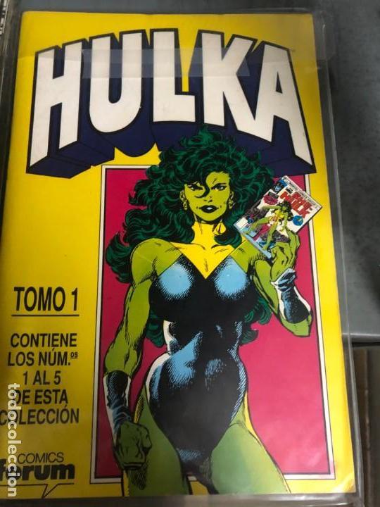 HULKA 1 A 10 (BYRNE) + MUNDICOMICS 1 Y 4 (Tebeos y Comics - Forum - Hulk)