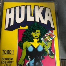 Cómics: HULKA 1 A 10 (BYRNE) + MUNDICOMICS 1 Y 4. Lote 151541682
