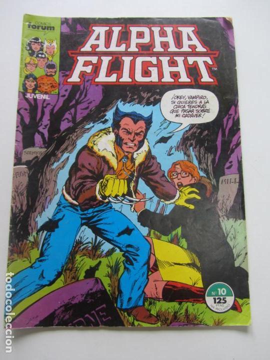 ALPHA FLIGHT VOL. 1 Nº 10 FORUM BYRNE VSD05 (Tebeos y Comics - Forum - Alpha Flight)