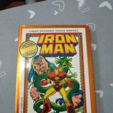 Cómics: IRON MAN GRANDES SAGAS LA SEMILLA DEL DRAGÓN. Lote 151585165