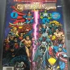 Cómics: DC VERSUS MARVEL 1 A 4 (COMPLETA) DIFICIL. Lote 151586810