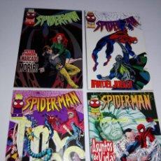 Cómics: LOTE 4 COMICS-SPIDER.MAN-NOS-VER FOTOS. Lote 151645122