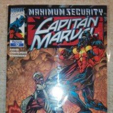 Cómics: CAPITAN MARVEL V.1 # 12 - MAXIMUM SECURITY. Lote 151651326