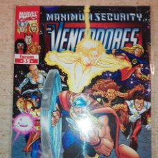 Cómics: LOS VENGADORES V.3 # 35 - MAXIMUM SECURITY. Lote 151651638