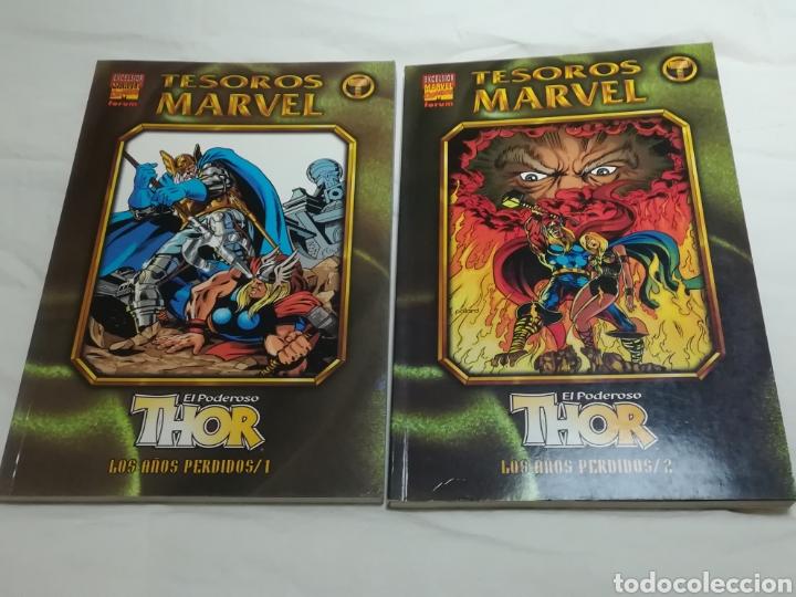 TESOROS MARVEL THOR-LOS AÑOS PERDIDOS-TOMOS 1 Y 2-FORUM (Tebeos y Comics - Forum - Thor)