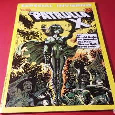 Comics : DE KIOSCO LA PATRULLA X ESPECIAL INVIERNO FORUM. Lote 106998698