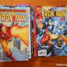 Cómics: EL INVENCIBLE IRON MAN VOLUMEN 4 COMPLETA - 25 NUMEROS - MARVEL - FORUM (BT). Lote 151732738