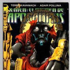 Cómics: X-MEN. EL ORIGEN DE APOCALIPSIS. TERRY KAVANAGH - ADAM POLLINA. FORUM, PLANETA, 1997. Lote 151812256