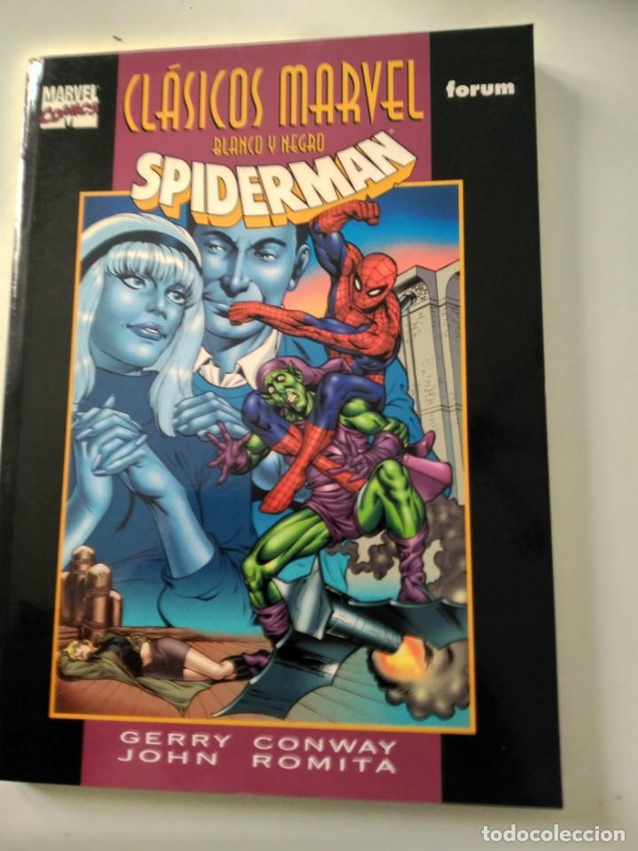 CLASICOS MARVEL BLANCO Y NEGRO: SPIDERMAN. CONWAY, ROMITA. (Tebeos y Comics - Forum - Spiderman)