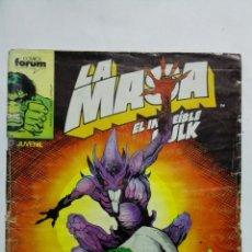 Cómics: LA MASA EL INCREILE HULK, Nº 49, COMICS FORUM. Lote 152016114