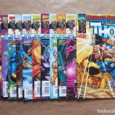 Cómics: EL PODEROSO THOR 1 A 12 - ( 1999 - 2002 ) - HEROES RETURN - JURGENS Y ROMITA JR. - FORUM - JMV. Lote 152019494