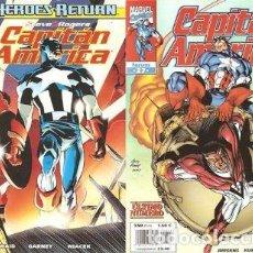 Cómics: CAPITAN AMERICA VOL. 4 HEROES RETURN COMPLETA 1 AL 27 - FORUM - OFSF15. Lote 152029810