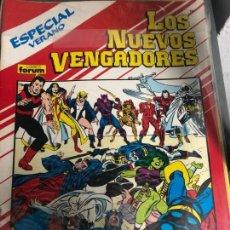 Cómics: NUEVOS VENGADORES 1-80 + ESPECIALES. Lote 151477794