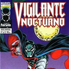 Cómics: VIGILANTE NOCTURNO COMPLETA 1 AL 12 - FORUM - BUEN ESTADO - OFSF15. Lote 152264630