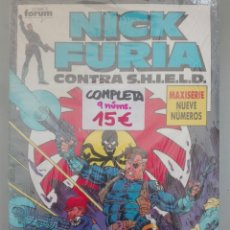 Cómics: MAXISERIE NICK FURIA CONTRA SHIELD COMPLETA #. Lote 152265378