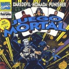 Cómics: JUEGO MORTAL COMPLETA 1 AL 9 - FORUM - BUEN ESTADO - OFSF15. Lote 152267430