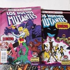 Cómics: LOS NUEVOS MUTANTES (BIMESTRALES TWO-IN-ONE), NºS 44-48. Lote 152280038