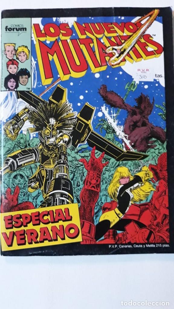 LOS NUEVOS MUTANTES, ESPECIAL VERANO, ARTHUR ADAMS (Tebeos y Comics - Forum - Nuevos Mutantes)