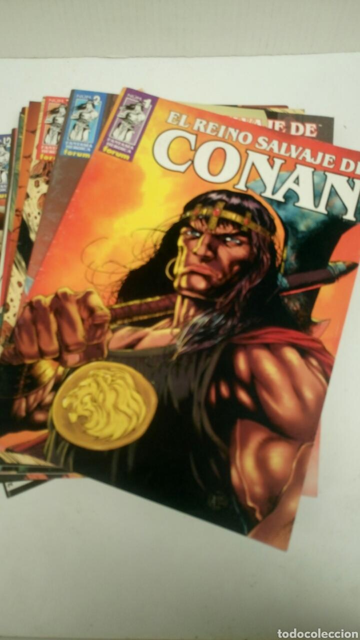 EL REINO SALVAJE DE CONAN, 13 PRIMEROS NUMEROS. NUEVOS. (Tebeos y Comics - Forum - Conan)