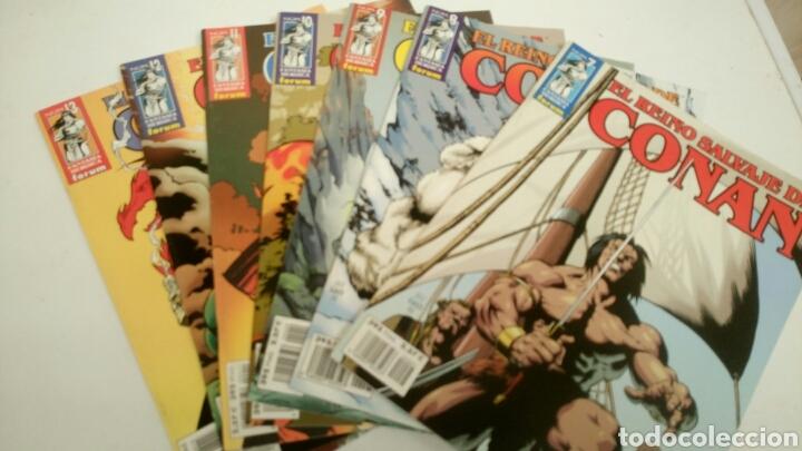 Cómics: El reino salvaje de Conan, 13 primeros numeros. Nuevos. - Foto 2 - 152280913