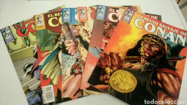 Cómics: El reino salvaje de Conan, 13 primeros numeros. Nuevos. - Foto 3 - 152280913