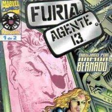 Cómics: FURIA AGENTE 13 COMPLETA 1 Y 2 - FORUM - BUEN ESTADO - OFSF15. Lote 152287910