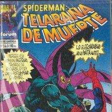 Cómics: SPIDERMAN TELARAÑA DE MUERTE Nº 1-2-3. Lote 152293062