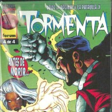 Cómics: X-MEN TORMENTA Nº 1-2-3-4. Lote 152293334