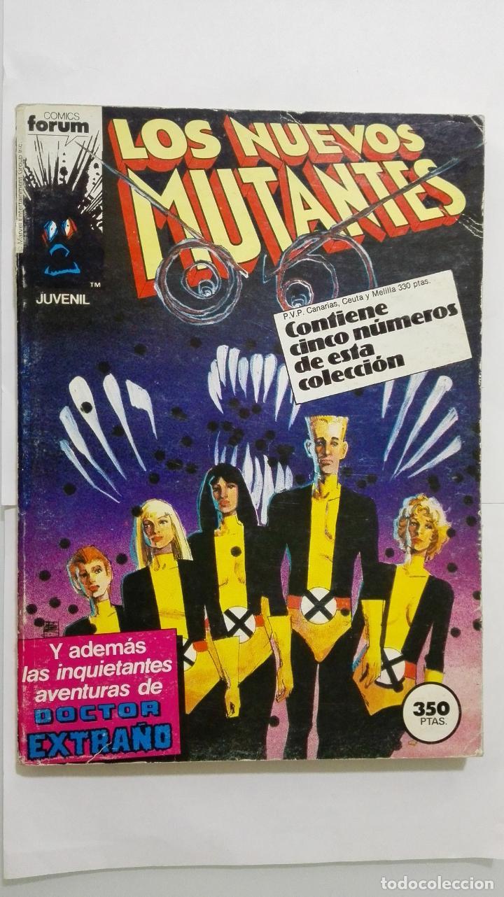 LOS NUEVOS MUTANTES Nº 21 - 22 - 23 - 24 - 25, COMICS FORUM (Tebeos y Comics - Forum - Nuevos Mutantes)