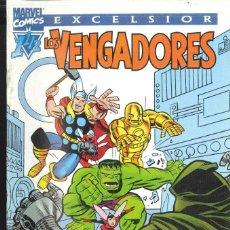 Cómics: EXCELSIOR LOS VENGADORES. Lote 152295818