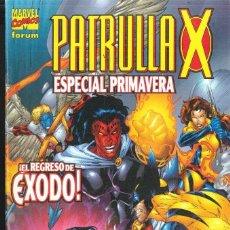 Cómics: PATRULLA-X ESPECIAL PRIMAVERA 2002. Lote 152295954