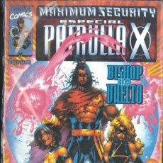 Cómics: MAXIMUN SECURITY PATRULLA-X BISHOP HA VUELTO. Lote 152296122