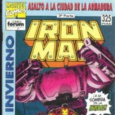 Cómics: IRON MAN : ASALTO A LA ARMADURA EXTRA INVIERNO 1993. Lote 152296822