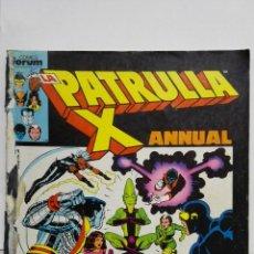 Cómics: LA PATRULLA X ANNUAL Nº 31, COMICS FORUM, RETAPADO. Lote 152296838