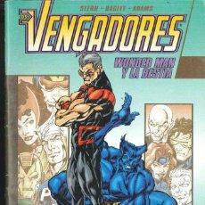 Cómics: VENGADORES : WONDER MAN Y LA BESTIA. Lote 152296886