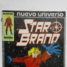 Cómics: NUEVO UNIVERSO, STAR BRAND, Nº 1, COMICS FORUM. Lote 152297886