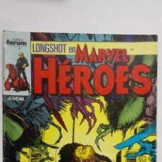 Cómics: LONGSHOT EN MARVEL HEROES, Nº 17, COMICS FORUM. Lote 152298094