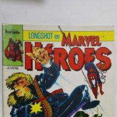Cómics: LONGSHOT EN MARVEL HEROES, Nº 18, COMICS FORUM. Lote 152298310