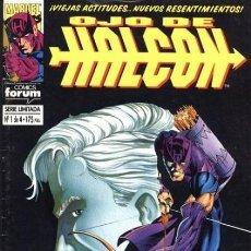 Cómics: OJO DE HALCON COMPLETA 1 AL 4 - FORUM - BUEN ESTADO - OFSF15. Lote 152305778