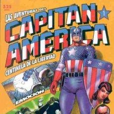 Cómics: CAPITAN AMERICA CENTINELA DE LA LIBERTAD COMPLETA 4 TOMOS PRESTIGIO - FORUM - BUEN ESTADO - OFSF15. Lote 152331618