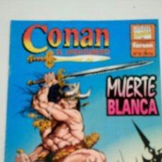 Cómics: CONAN, EL AVENTURERO, NUMERO 2. MUERTE BLANCA.. Lote 152418285
